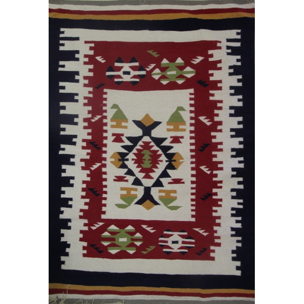 chic and modern contemporary kilim rug