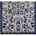 tableau bleu motifs jasmin