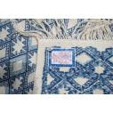 kilim style margoum bleu