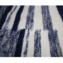 tapis kilim rayé et moucheté