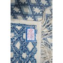 tapis Margoom traditionnel avec motif bleu